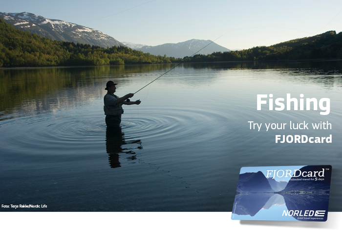 Fishing with FJORDcard - Norled