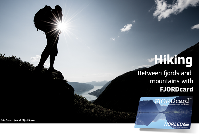 Hiking with FJORDcard - Norled