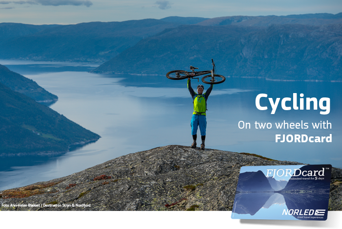 Cycling with FJORDcard - Norled